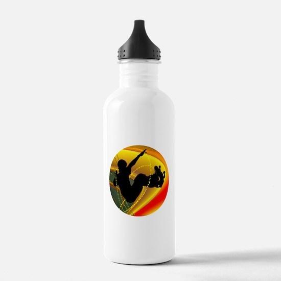 Skateboarding Silhouet Water Bottle