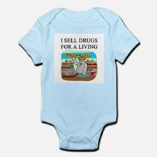 funny pharmacist joke gifts t-shirts Infant Bodysu