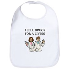 funny pharmacist joke gifts t-shirts Bib