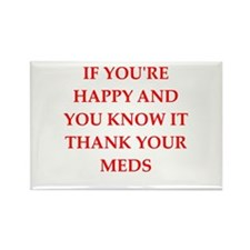 happy Rectangle Magnet (100 pack)