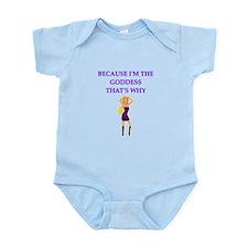 goddess Infant Bodysuit