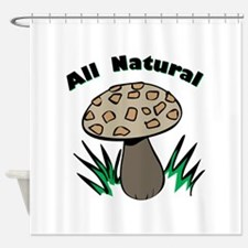 All Natural Shower Curtain