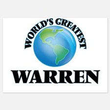 World's Greatest Warren Invitations