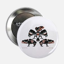 """Raven & Her Bears 2.25"""" Button (10 pack)"""