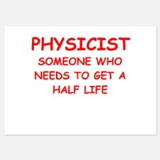 physics joke Invitations