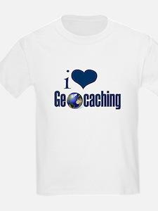 I Love Geocaching T-Shirt