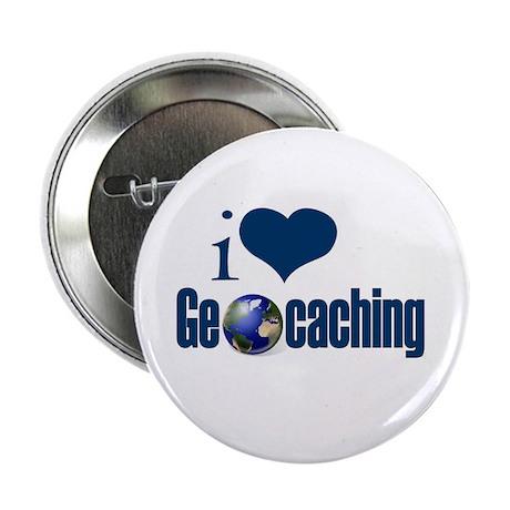 I Love Geocaching Button