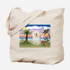 Palms & Bolognese Tote Bag