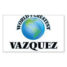 World's Greatest Vazquez Decal