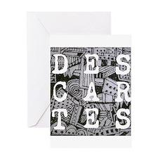 Descartes Greeting Card