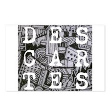 Descartes Postcards (Package of 8)