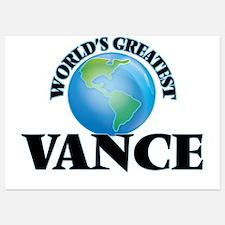 World's Greatest Vance Invitations
