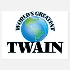 World's Greatest Twain Invitations
