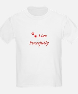 Live Peacefully T-Shirt