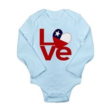 Red Chile LOVE Body Suit