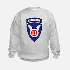 11th Airborne division.png Sweatshirt