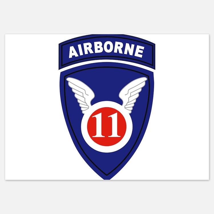 11th Airborne division Invitations