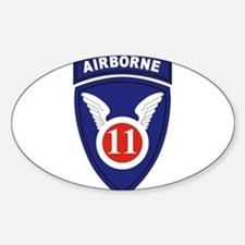 11th Airborne division Decal
