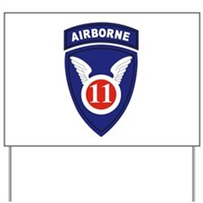 11th Airborne division.png Yard Sign
