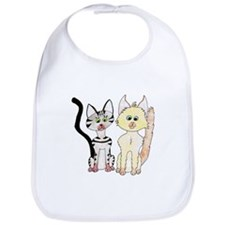 The Naughty Kittens Bib