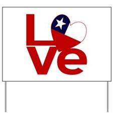 Red Chile LOVE Yard Sign