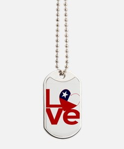 Red Chile LOVE Dog Tags