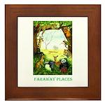 Faraway Places Framed Tile