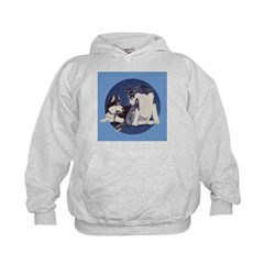 Siberian Husky Puppies Hoodie