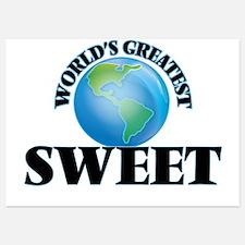 World's Greatest Sweet Invitations