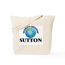 World's Greatest Sutton Tote Bag