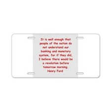 44.png Aluminum License Plate