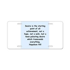 10.png Aluminum License Plate