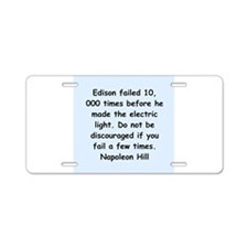 11.png Aluminum License Plate