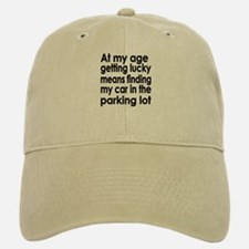 Over the Hill Getting Old Baseball Baseball Cap