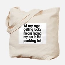 Over the Hill Getting Old Tote Bag