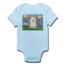 Lily Pond/Bolognese Infant Bodysuit