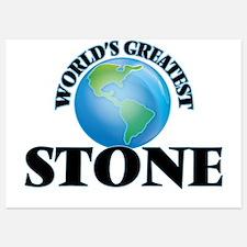 World's Greatest Stone Invitations