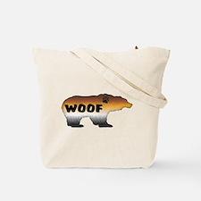 FURRY PRIDE BEAR/WOOF Tote Bag