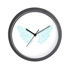 Wing Wall Clock