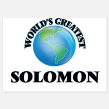 World's Greatest Solomon Invitations