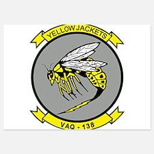 vaq138_yellow_jackets Invitations