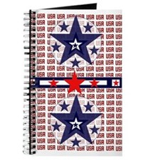 The USA All Over Patriotic Journal