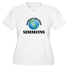 World's Greatest Simmons Plus Size T-Shirt