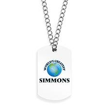 World's Greatest Simmons Dog Tags