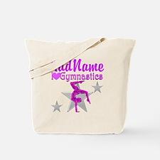TWISTING GYMNAST Tote Bag