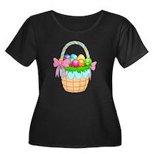 Easter Basket Plus Size T-Shirt