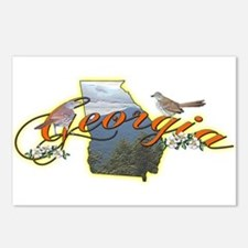 Georgia Postcards (Package of 8)