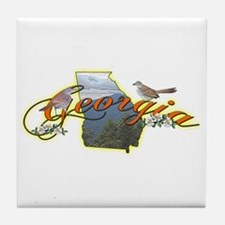 Georgia Tile Coaster