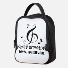 Personalized Choir Director Neoprene Lunch Bag