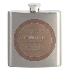 ZOMBIE SKULLS Flask